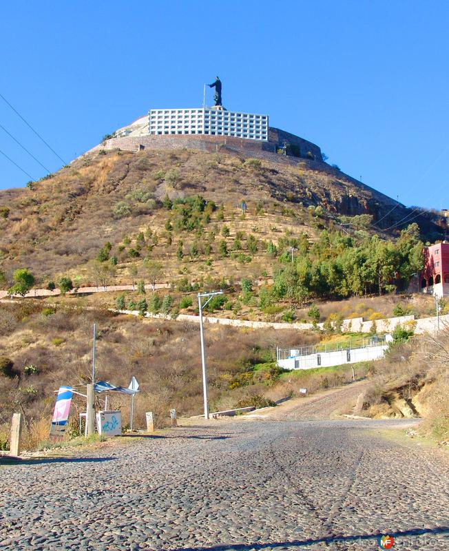 Fotos de Cerro del Cubilete, Guanajuato, México: Camino al Cristo Rey