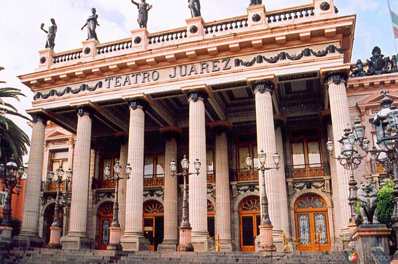 Fotos de Guanajuato, Guanajuato, México: Teatro Juárez