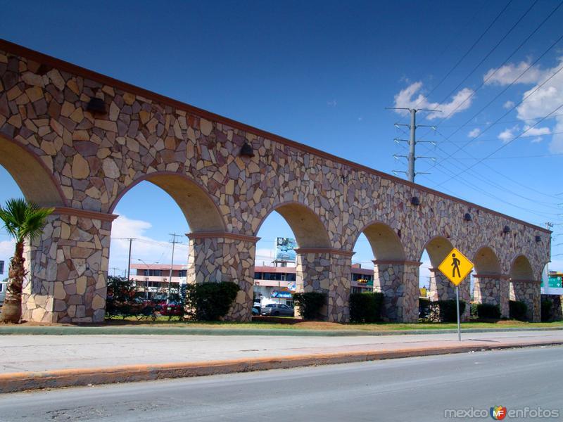 Fotos de Saltillo, Coahuila, México: Acueducto