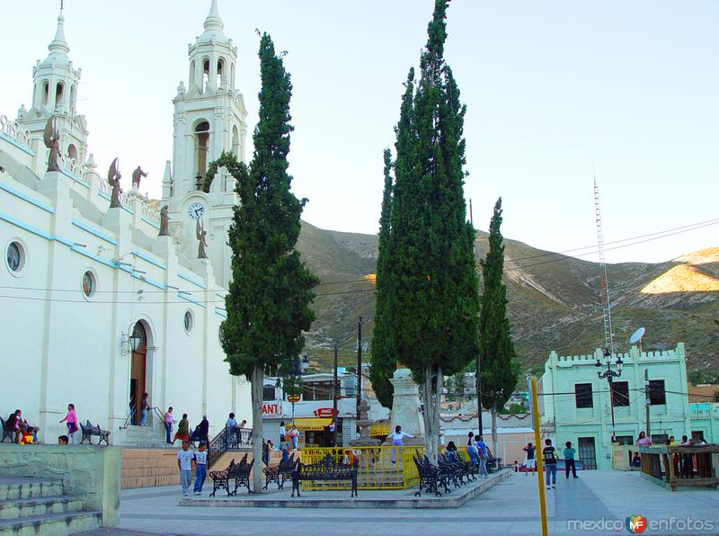 Fotos de Concepci�n del Oro, Zacatecas, M�xico: Plaza Principal