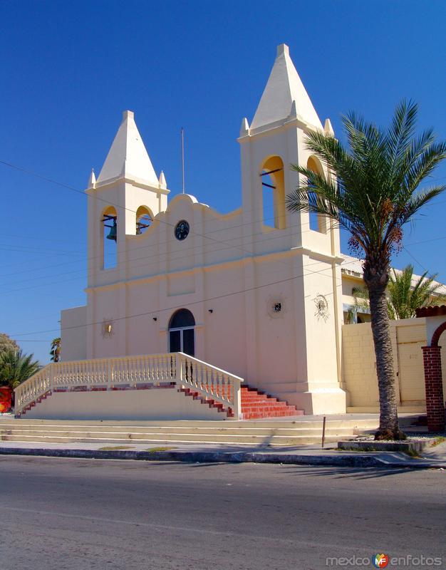 Fotos de Puerto Pe�asco, Sonora, M�xico: Iglesia del Sagrado Coraz�n