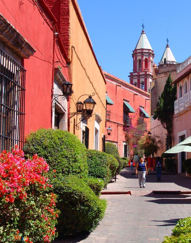 Callejón en el Centro Histórico