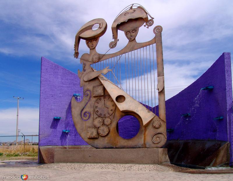 Fotos de Ciudad Juárez, Chihuahua, México: Monumento Ciudades Hermanas