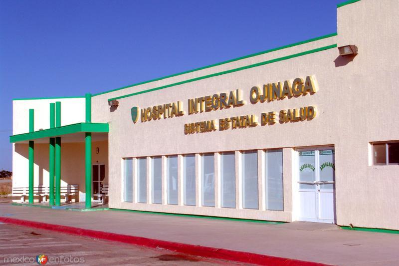 Fotos de Ojinaga, Chihuahua, M�xico: Hospital Integral