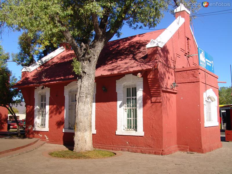 Fotos de Saltillo, Coahuila, México: Oficinas de la antigua estación de ferrocarril