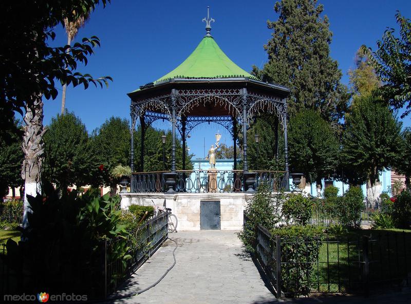 Fotos de Parras de la Fuente, Coahuila, M�xico: Kiosco de la plaza principal