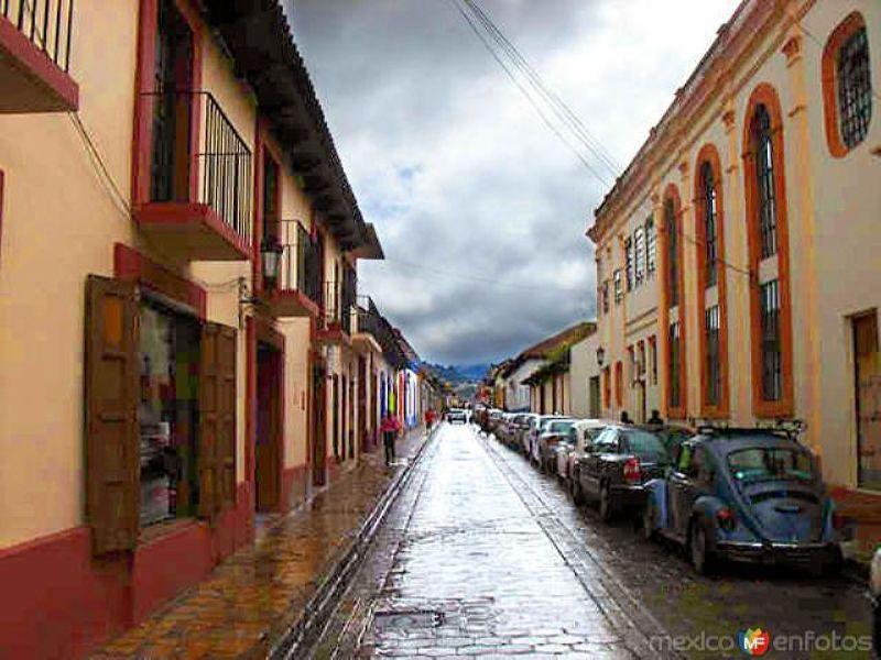 Fotos de San Crist�bal de las Casas, Chiapas, M�xico: Calles de San Crist�bal