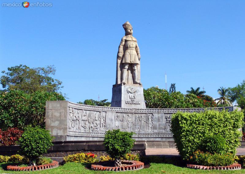 Fotos de Colima, Colima, M�xico: Monumento al Rey Colim�n