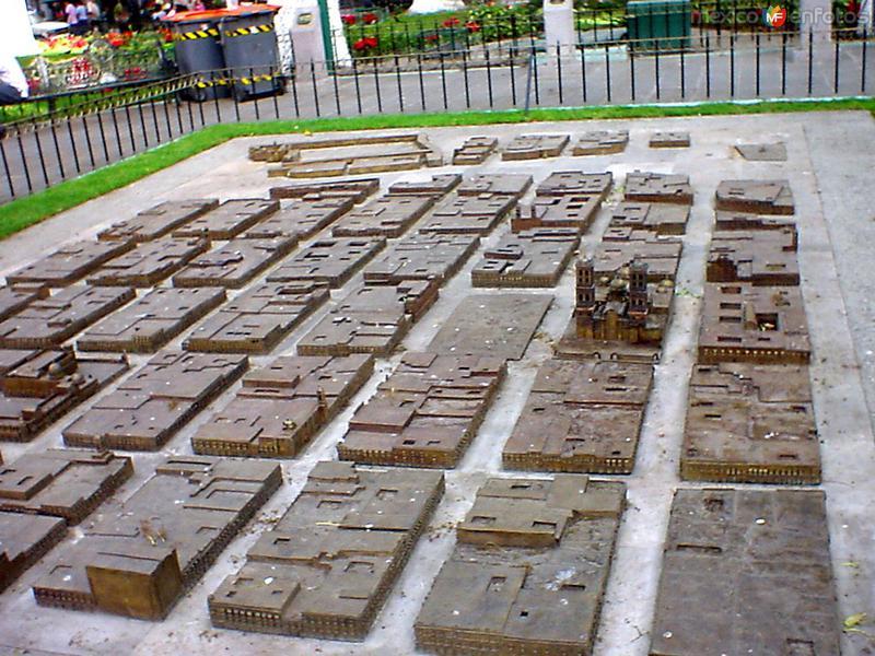 Fotos de Puebla, Puebla, M�xico: Altorrelieve del centro hist�rico de Puebla