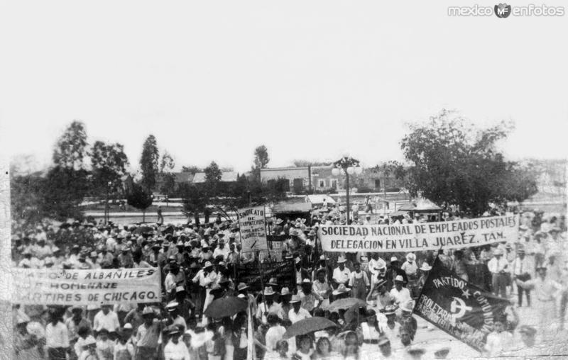 Fotos de Ciudad Mante, Tamaulipas, M�xico: Desfile del D�a del Trabajo