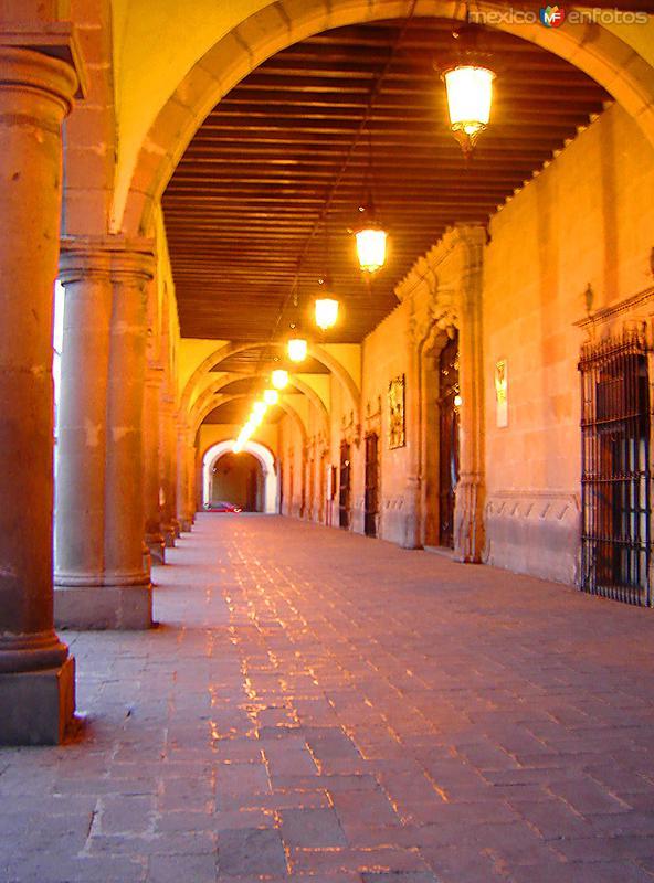 Portales del Palacio de Zambrano
