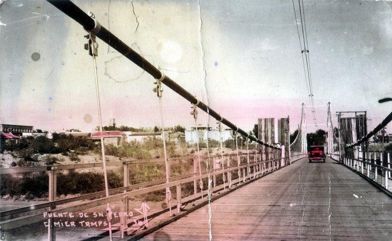 Fotos de Ciudad Mier, Tamaulipas, M�xico: Puente de San Pedro