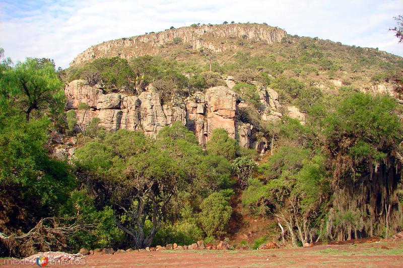 Cerro La Mesa, lugar donde se ubica la Cueva