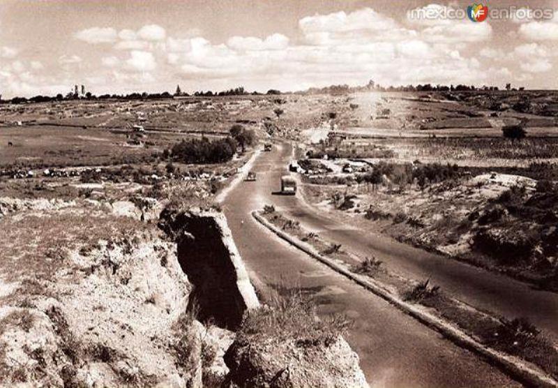 Antigua carretera a Zapopan (1942)