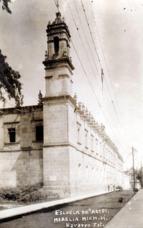 Fotos de Morelia, Michoac�n, M�xico: Escuela de Bellas Artes