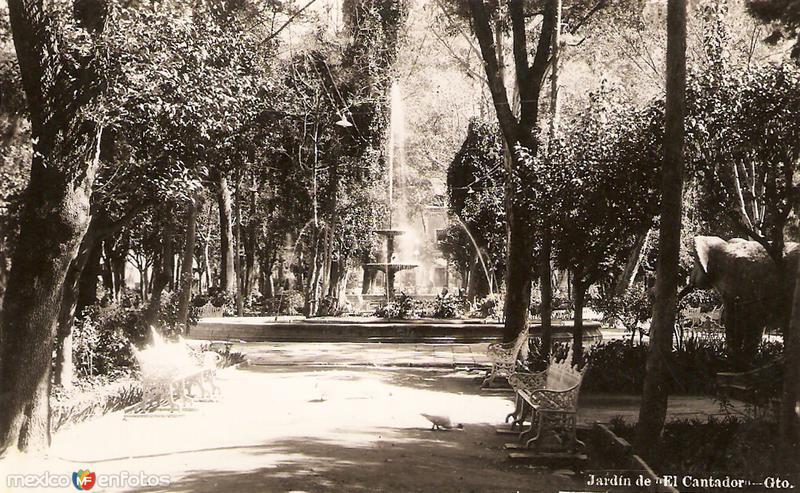 Jard n de el cantador guanajuato guanajuato for 7 jardines guanajuato