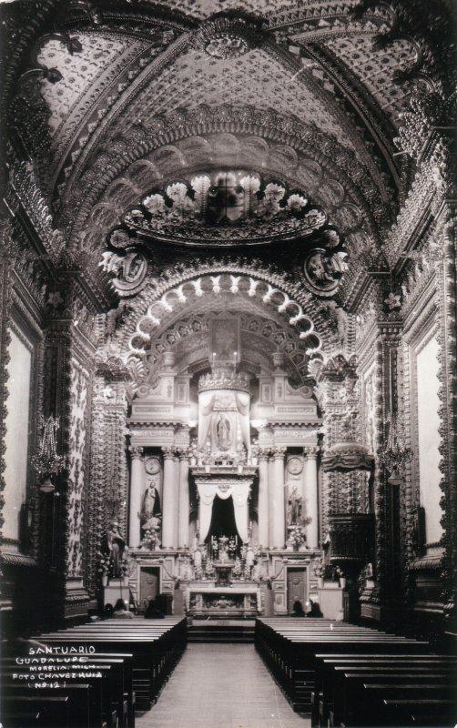 Interior del Santuario de Guadalupe