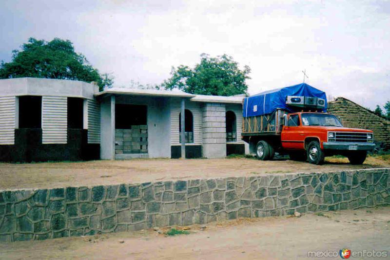 Casas de San Lorenzo Chiautzingo