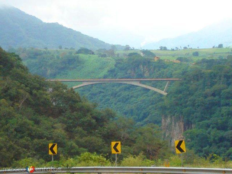 Puente en la carretera a Talpa
