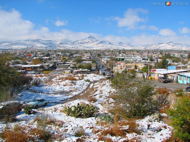 Fotos de Ciudad Ju�rez, Chihuahua, M�xico: Ju�rez nevado