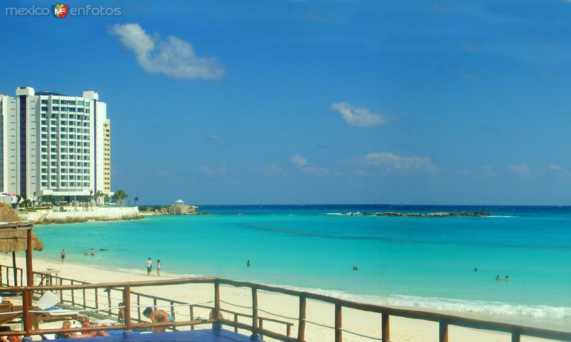 Playa en el Mar Caribe