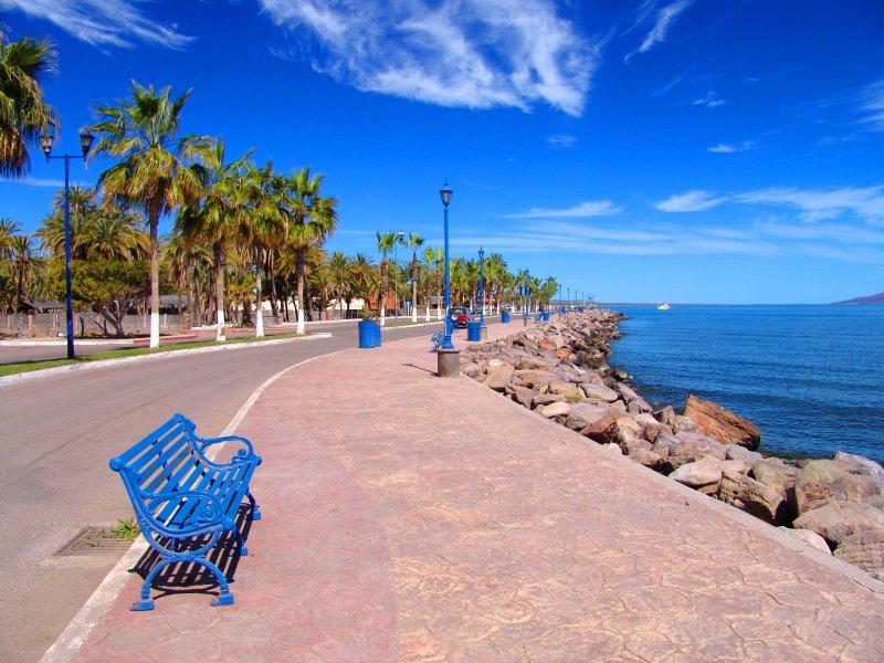 Fotos de Loreto, Baja California Sur, M�xico: Malec�n de Loreto