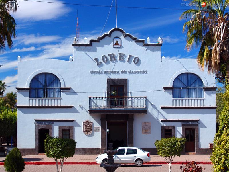 Fotos de Loreto, Baja California Sur, México: Presidencia Municipal