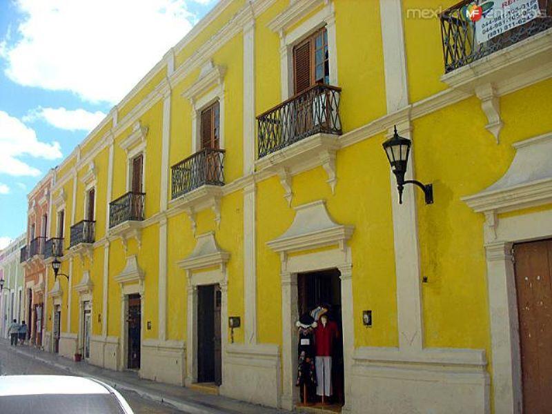Fachadas de Campeche