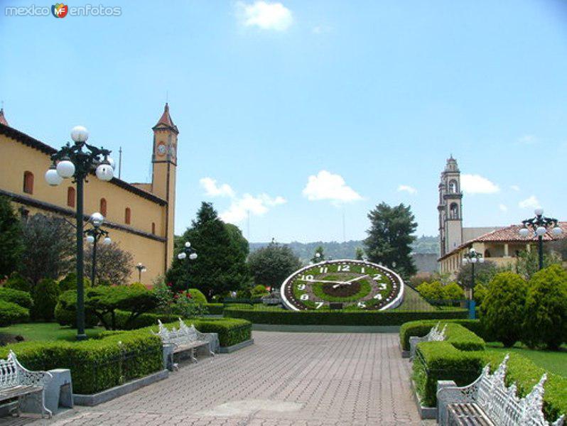 Plaza central de Zacatlan