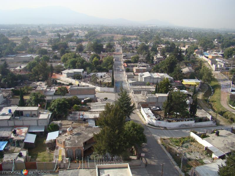 Fotos de Teotihuac�n, M�xico, M�xico: Vista a�rea de Teotihuac�n