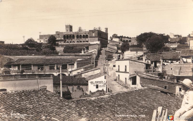 Panorámica de Cuernavaca