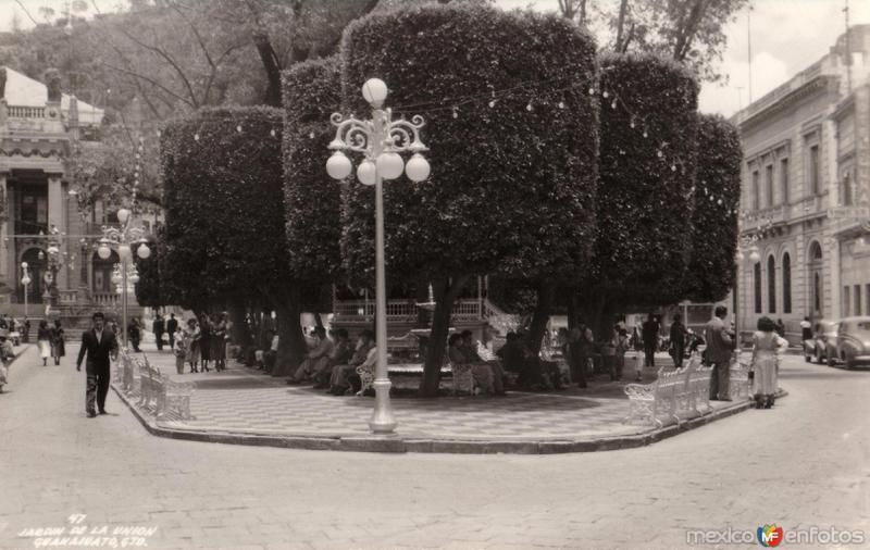 Fotos de Guanajuato, Guanajuato, México: Jardín de La Unión