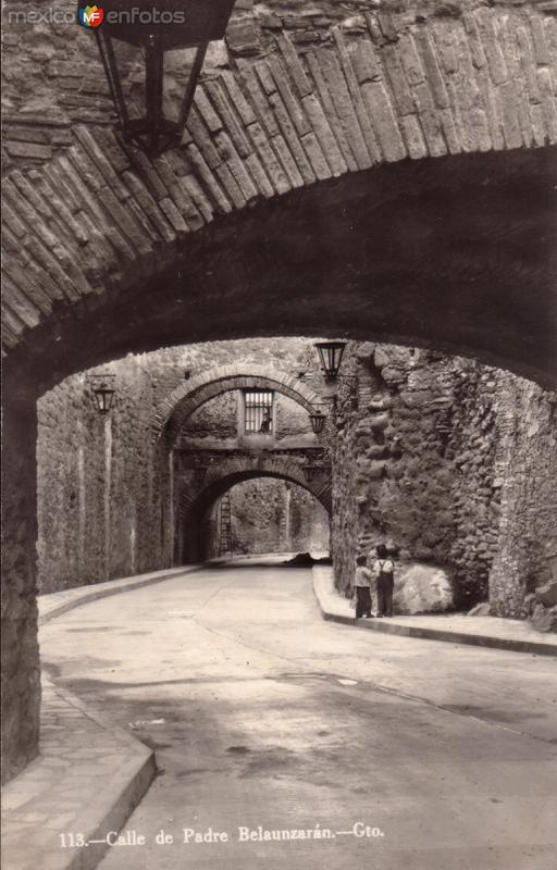 Calle del Padre Belaunzarán