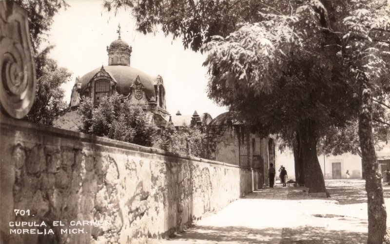 Cúpula del Ex Convento del Carmen