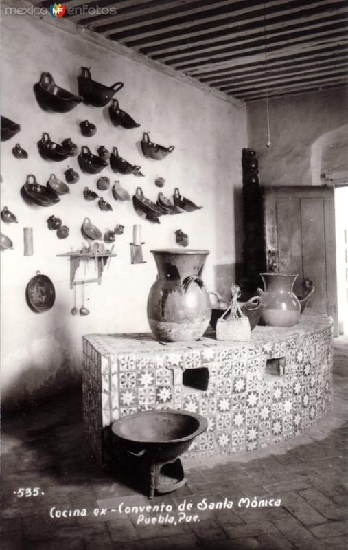 Cocina del ex Convento de Santa Mónica