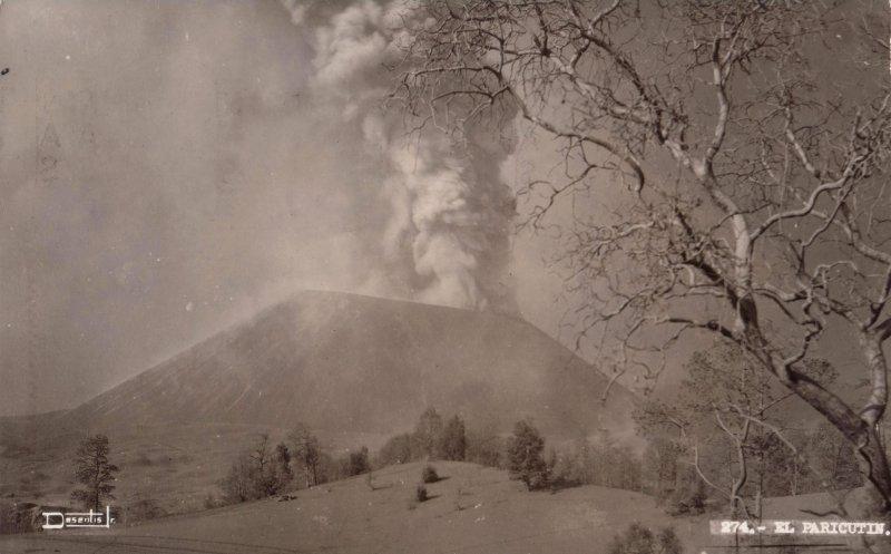 Erupción del Volcán Paricutín