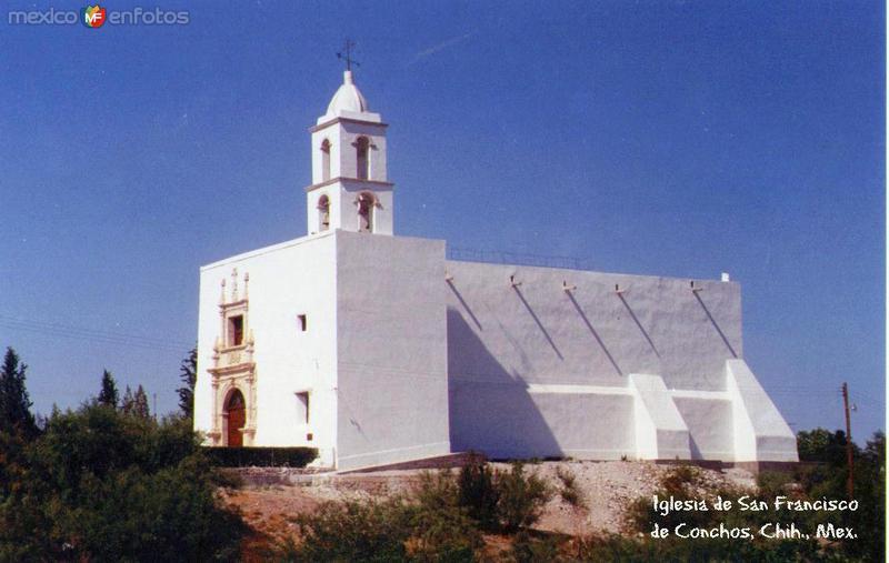 Fotos de San Francisco de Conchos, Chihuahua, México: Templo San Francisco de Asis
