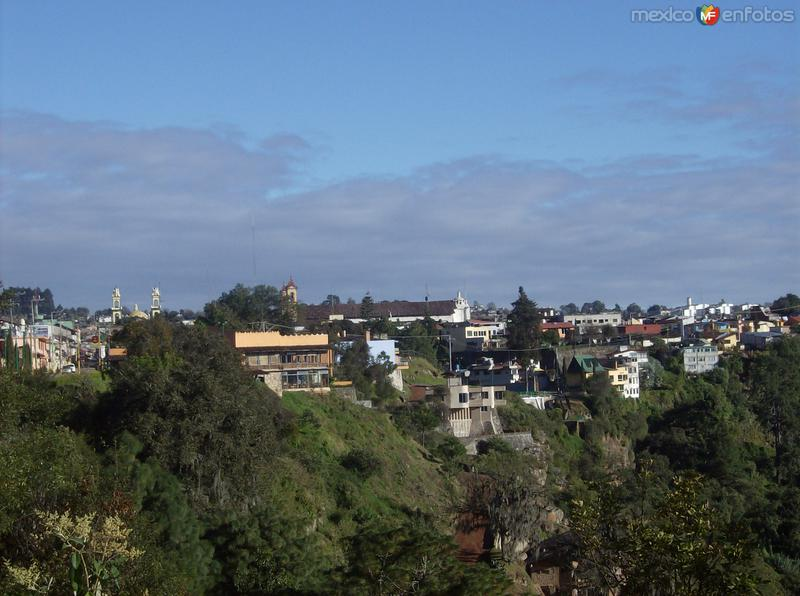 Panoramica de Zacatlán