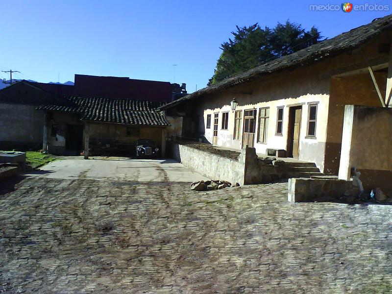 Casa antigua en Zacatlán