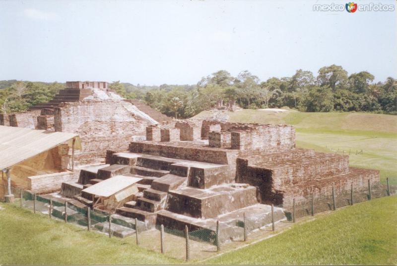 Fotos de Comalcalco, Tabasco, México: ruinas de comalcalco