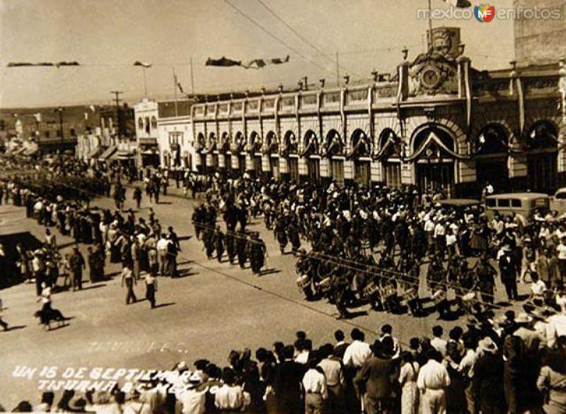 Desfile del 20 Noviembre de 1934