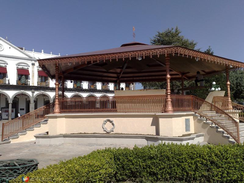 Nuevo kiosko de Zacatlán