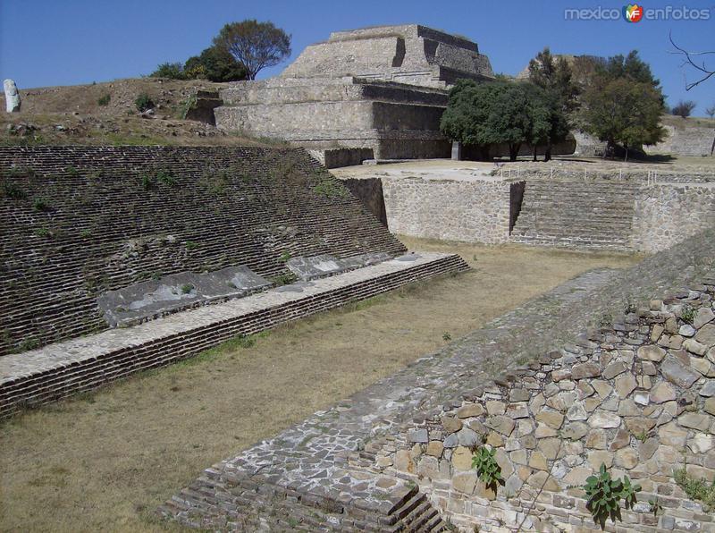 Fotos de Monte Albán, Oaxaca, México: ruinas