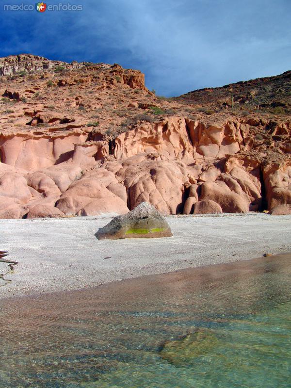 Fotos de Isla Esp�ritu Santo, Baja California Sur, M�xico: La Ensenada Grande, en la Isla Esp�ritu Santo