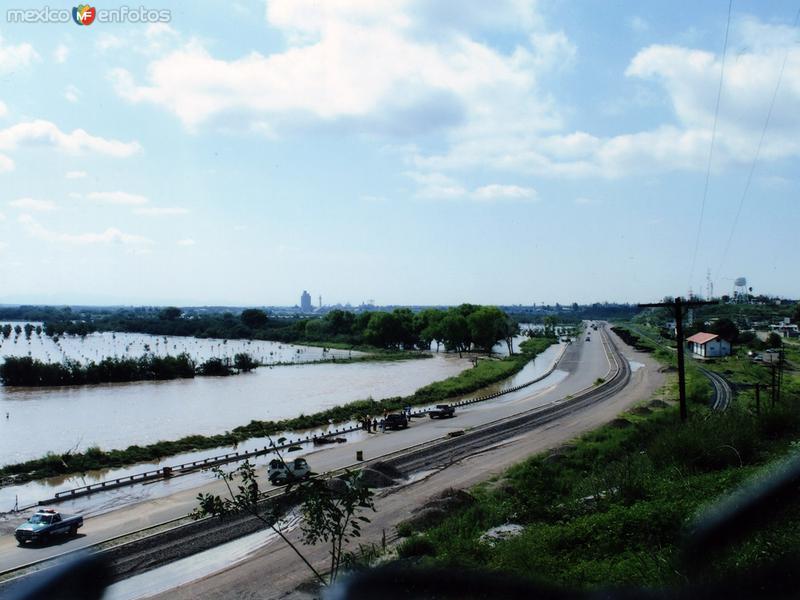 Fotos de Camargo, Chihuahua, M�xico: Inundacion en Septiembre del 2008