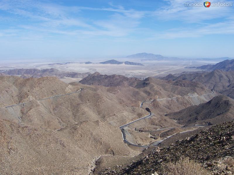 Fotos de La Rumorosa, Baja California, M�xico: Paisaje de La Rumorosa