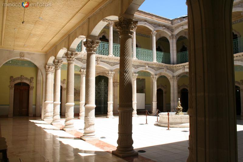 Fotos de Hidalgo del Parral, Chihuahua, M�xico: Interior  del  Palacio  de  Alvarado