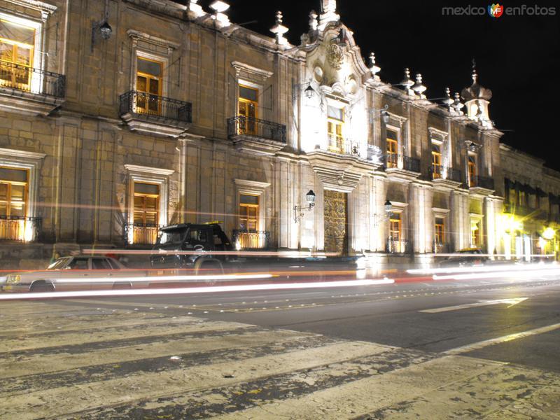 Palacio de Gobierno del Edo. sobre Av. Madero