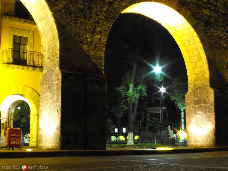Plaza del caballito desde el acueducto