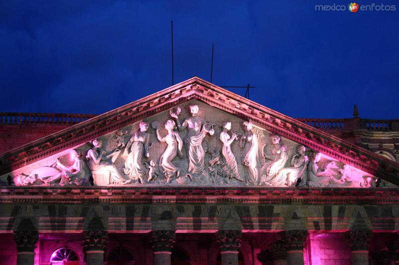 Teatro Degollado, iluminado